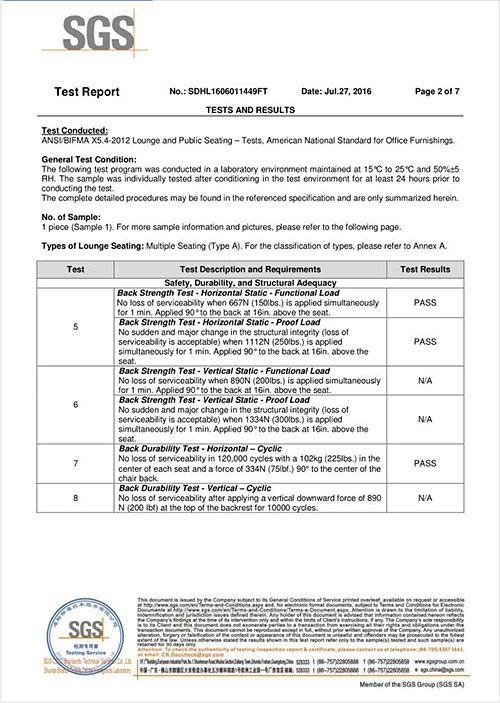 SGS PU3016 REPORT - 2