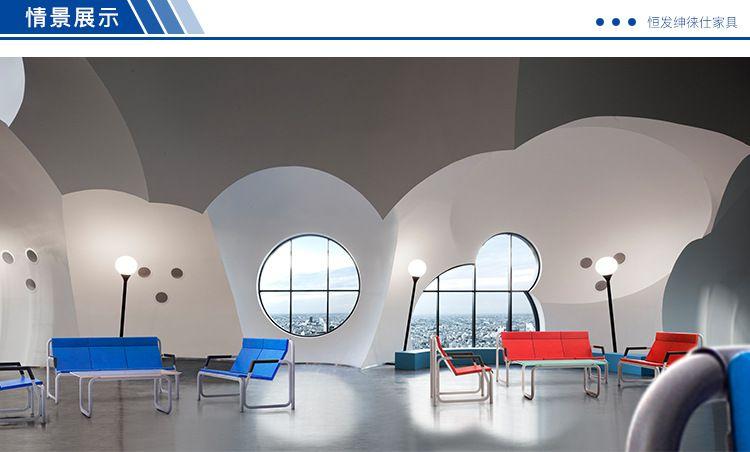 PU办公沙发排椅工程