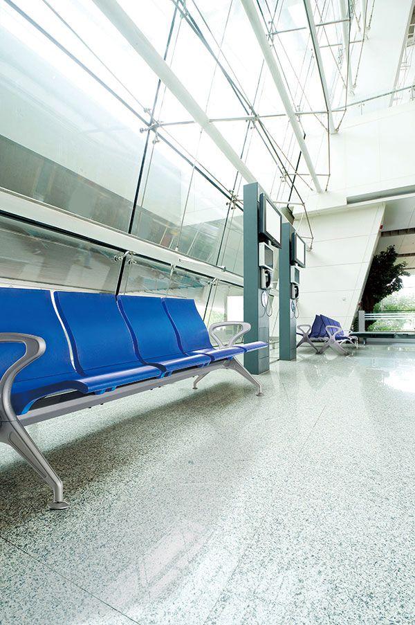PU系列矮靠背机场椅适用场景