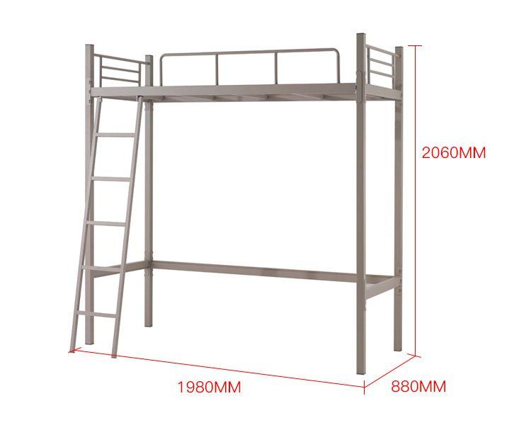 SB-03多功能学生环保高架床尺寸