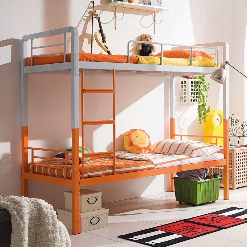 创意双色学生上下铁床 分拆一分二单层床 SB-11S